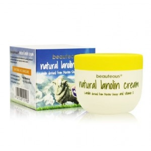Beauteous natural lanolin cream 天然羊毛脂绵羊油面霜含VE 100g
