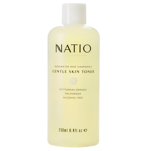Natio rose/cham toner玫瑰甘菊爽肤水250ml